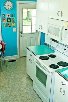 Awesome Retro Kitchen Ideas Concept
