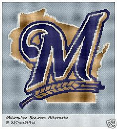 Details About Counted Cross Stitch Pattern For Mlb Team