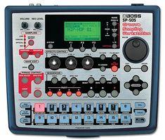 Vintage Synth Explorer   BOSS SP-505 Groove Sampling Workstation
