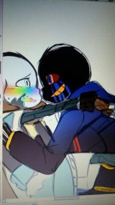 Read Cosas bonitas from the story ErrorInk Gallery! Undertale Love, Undertale Ships, Undertale Fanart, Undertale Comic, Undertale Pictures, Error Sans, Villain Deku, Dragon Trainer, Anime Cat