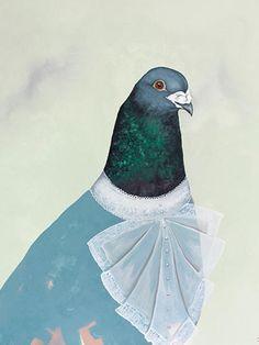 Delphine, Malerei von Jill Tegan Doherty http://www.weartberlin.de/inspiration/berlinartweek2015/