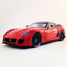 Supercar heaven with the Ferrari 599XX