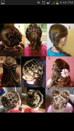 Schöne Frisuren für Kids