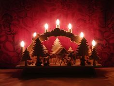 HANDMADE GERMAN Christmas Decoration Candle by HermanTheGerman2011, $250.00 etsy