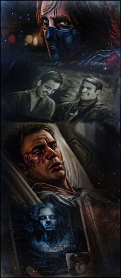 Captain America and The Winter Soldier by thecannibalfactory.deviantart.com on @DeviantArt