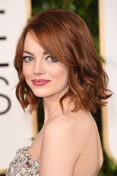 Trendy Hair Colors for Spring 2015: Emma Stone Red Hair  #redhair #hair #hairstyles