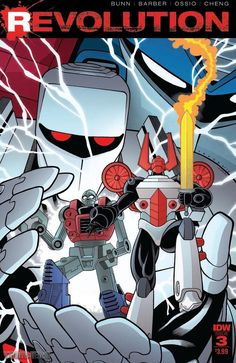 IDW Comics Preview - Revolution Issue #3 of 5