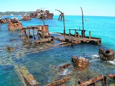 Morton Island Bay - 30 Incredible & Tragically Beautiful Images of the World's Most Haunting Shipwrecks Abandoned Ships, Abandoned Places, Abandoned Castles, Abandoned Mansions, Ghost Ship, Old Boats, World Images, Prison, Water Crafts