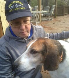 Naval retiree adds special needs dog to his pack
