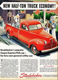 1946 Studebaker Half-Ton Coupe Express Pick-up
