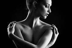 Nicol by Ludek Ciganek on Low Key Photography, Erotic Photography, Modern Photography, Photography Website, Black And White Photography, Dark Portrait, Female Portrait, Low Key Portraits, Ballet Photos