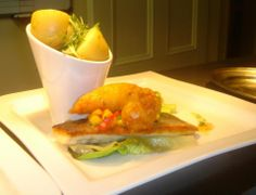 Pan Seared Fillet of Sea Bass - New Potatoes- Baby Gem -Sweetcorn & Chilli Salsa https://www.facebook.com/106995292674774/photos/a.529601423747490.1073741825.106995292674774/530126480361651/?type=3