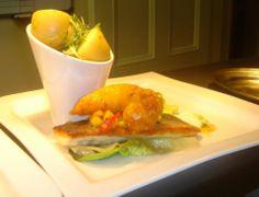Pan Seared Fillet of Sea Bass - New Potatoes- Baby Gem -Sweetcorn & Chilli Salsa https://www.facebook.com/106995292674774/photos/a.529601423747490.1073741825.106995292674774/530126480361651/?type=3