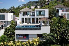 Choeng Thale, Phuket, Thailand • Ocean View Pool Villa on Surin Beach • VIEW THIS HOME ► https://www.homeexchange.com/en/listing/110414/