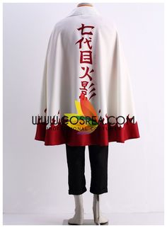 Costume Detail Naruto Uzumaki Seventh Hokage Cape Cosplay Costume Includes - Cape We may have selected store sizes for this costume, ready for fast ship. Please check with us on availability and appro