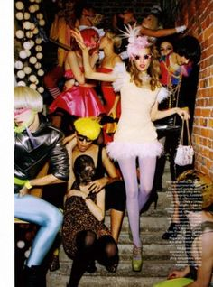 10 Must-Have Items for College Theme Parties. Wondering what to buy for college … 10 Must-Have Items for College Theme Parties. Wondering what to buy for college theme parties? Keep these 10 clothing items on hand and you'll be ready for any party theme. Ellen Von Unwerth, Foto Fashion, Fashion Models, High Fashion, Disco Party, Party Party, Cindy Crawford, A New York Minute, College Parties