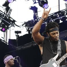 D'Angelo at Budweiser Made in America festival