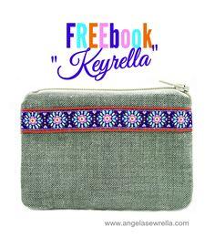 Freebook Keyrella selbstgenähtes Schlüsselmäppchen