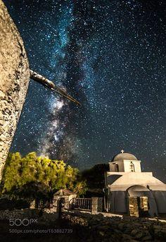 Milky Way rises over Kythnos islandGreece.  Camera: Canon EOS 6D Lens: 16-28mm…
