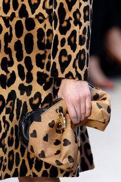 Leopard & Hearts at Burberry Prorsum, London Fashion Week 2013