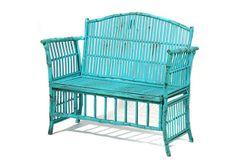 Emmeline Settee, Turquoise