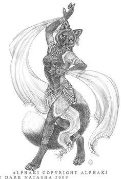 The Art of Dark Natasha - Drawings Gallery