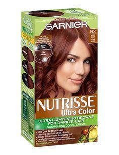 GARNIER NUTRISSE ULTRA COLOR NOURISHING COLOR CREME - Ultra Color B2 - Reddish Brown (Roasted Coffee)