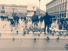 Piazza Duomo, Milano.