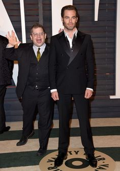 Chris Pine Photos - Stars at the Vanity Fair Oscar Party - Zimbio
