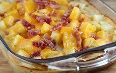 batata com bacon e parmesão