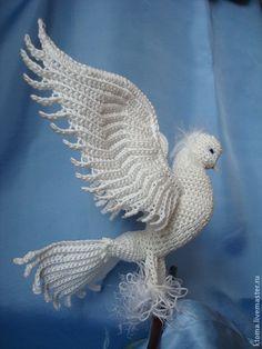 Crochet Parrot, Crochet Birds, Crochet Animals, Crochet Crafts, Crochet Toys, Crochet Projects, Crochet Dolls Free Patterns, Crochet Flower Patterns, Crochet Flowers