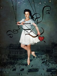 """Hit by your love"" by Catrin Welz-Stein 