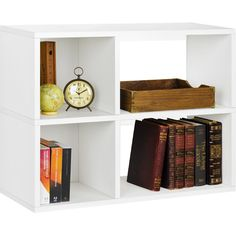 Shop AllModern for White Bookcases for the best selection in modern design.  Free shipping on all orders over $49.