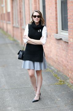tunic sweater with skirt