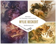 An interview with Fantasy Illustrator Wylie Beckert about her art, experiences and career.