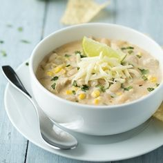 White Chicken Chili - a chili recipe you'll want to try!