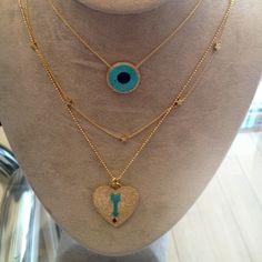 Jennifer Meyer layered necklaces