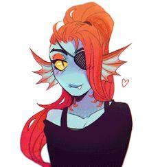 Undyne - fish lady