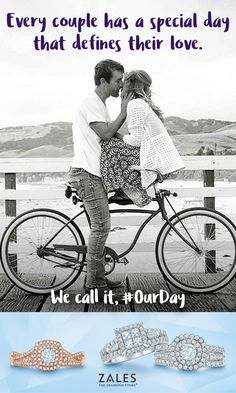 #OurDay    At Zales, we believe every couple has a special day that defines their love. We call it, #OurDay. Share your love story for a chance to be featured on zales.com/ourday.  In partnership with  TheWayWeMet.com.