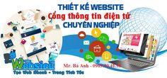 Thiết Kế Website Cổng Thông Tin Điện Tử