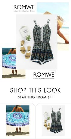 """""""Paisley Romper Romwe Contest"""" by amiraahmetovic on Polyvore"""