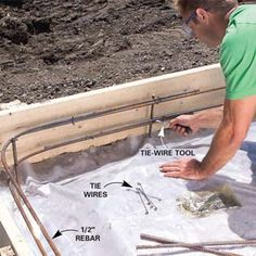 A Pro Shows You How To Build Strong Forms, Place A Solid Slab And Trowel