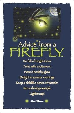 Advice from a Firefly, since I want a lightning bug tattoo