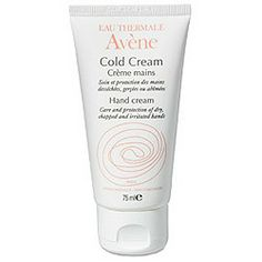 AVENE Cold Cream Crema Manos 75ml Cracked Hands, Hand Cream, Sun Protection, Health And Beauty, Healing, Personal Care, Skin Care, Hand Washing
