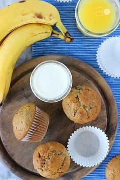 Banana Nut Muffins- seriously guys, these are the best banana nut muffins I've ever made, and eaten!