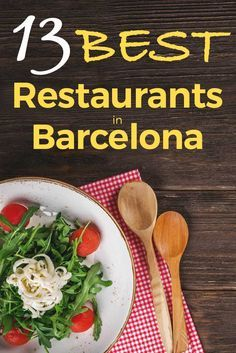Barcelona has plenty of restaurants to fill your stomach (even your soul). You can find amazing food if you know where to go, and…we know! As we have been living in Barcelona for such a long time, we know the best restaurants in Barcelona to enjoy a good Barcelona Travel Guide, Barcelona Food, Barcelona Restaurants, Barcelona City, Barcelona Tourist, Visit Barcelona, Roadtrip, Best Places To Eat, Foodie Travel