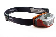 Cocoweb Ultra Bright LED Headlamp Flashlight LED Headlight - Light  Comfortable with 248% Longer Battery Life! Adjustable White, And Strobe Light Ideal for Camping, Running, Hunting, Reading, Construction and more! Water Resistant with batteries included! >>> You can get additional details at the image link.