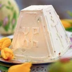 Pascha, Paska, Russian Orthodox Easter cheese mold