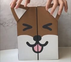 Cool Paper Crafts, Paper Crafts Origami, Cardboard Crafts, Fun Crafts, Kawaii Crafts, Origami Art, Creative Crafts, Diy Crafts Hacks, Diy Crafts For Gifts