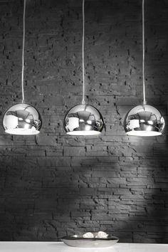 Hängelampe Hängeleuchte Pendelleuchte CHROMATRON TRIO 70er Retro Design Lampe in…